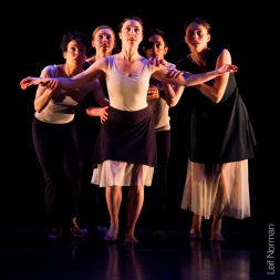 Choreography by Rachel Browne, Sunstorm, 2002, Kristin Haight, Sarah Roche, Lise McMillan, Mark Medrano, Johanna Riley