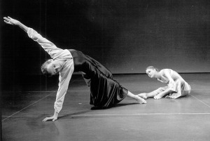 Just About Us, 1977 Choreography: Rachel Browne Dancers: Rachel Browne, Suzanne Oliver