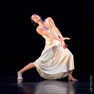 Dancer: Treasure Waddell. Photo: Leif Norman, 2013.