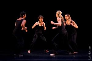 L to R: Mark Medrano, Kristin Haight, Kayla Henry, Emma Rose. Photo: Leif Norman, 2013.