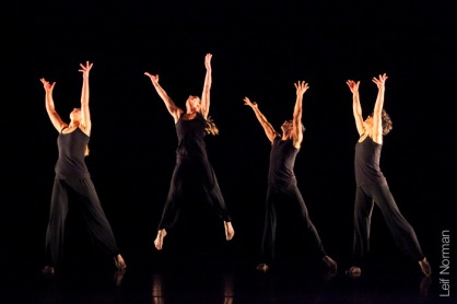 L to R: Emma Rose, Kayla Henry, Mark Medrano, Kristin Haight. Photo: Leif Norman, 2013.
