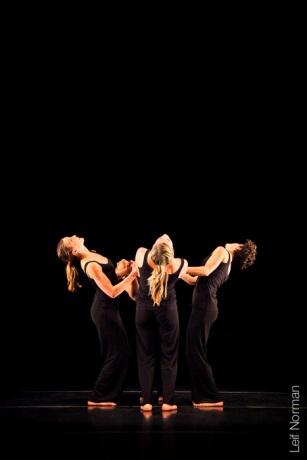 L to R: Emma Rose, Mark Medrano, Kayla Henry, Kristin Haight. Photo: Leif Norman, 2013.