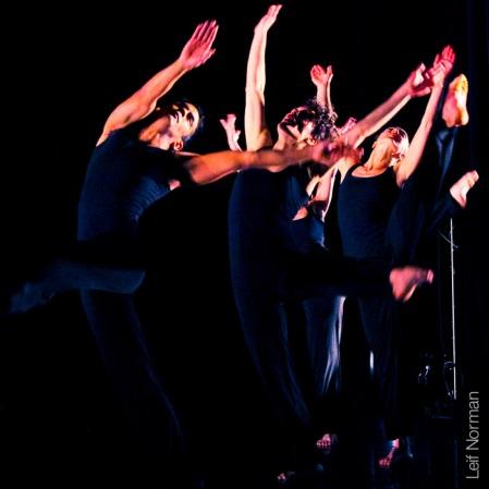 Front to Back: Mark Medrano, Kristin Haight, Emma Rose, Kayla Henry. Photo: Leif Norman, 2013.