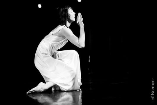 Dancer: Treasure Waddell. Photo: Leif Norman, 2013.