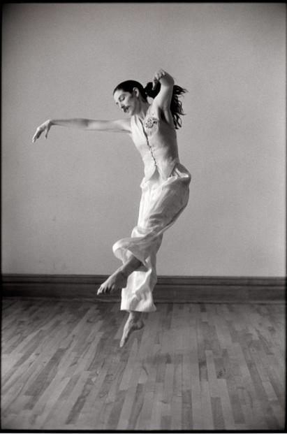 Dancer: Sharon Moore. Photo: Bruce Monk, 1991