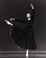 Dancer: Rachel Browne. Photo: Andrew Oxenham, 1975