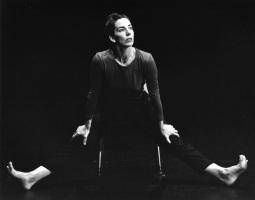 EDGELIT (1996-2000) Choreography: Rachel Browne. Dancer: Davida Monk.