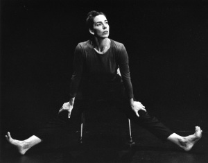 EDGELIT (1996-2000) Choreography: Rachel Browne. Dancer: Davida Monk
