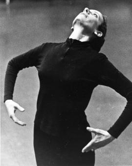 Rachel Browne in rehearsal, 1970s.