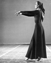 TRUE BELIEVER (1969) Choreography: Robert Moulton. Dancer: Rachel Browne. Photo: J. Coleman Fletcher