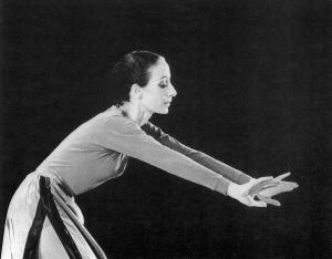 HAIKU (1981) Choreography: Rachel Browne Dancer: Rachel Browne Photo Credit: J. Coleman Fletcher
