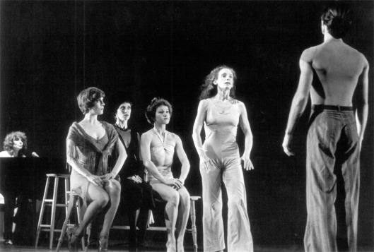 SPY IN THE HOUSE OF LOVE (1976). Choreography: Lynne Taylor Corbett. Rachel Browne (standing). Photo: David Hiley.