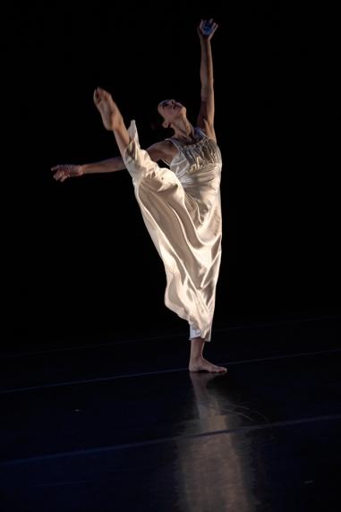 Dancer: Treasure Waddell. Photo: Hugh Conacher, 2006.