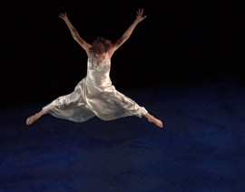 Dancer: Treasure Waddell. Photo: Hugh Conacher, 2006.