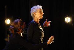 FLOWERING (choreography: Rachel Browne, with Rachel Browne & Odette Heyn, 2008.